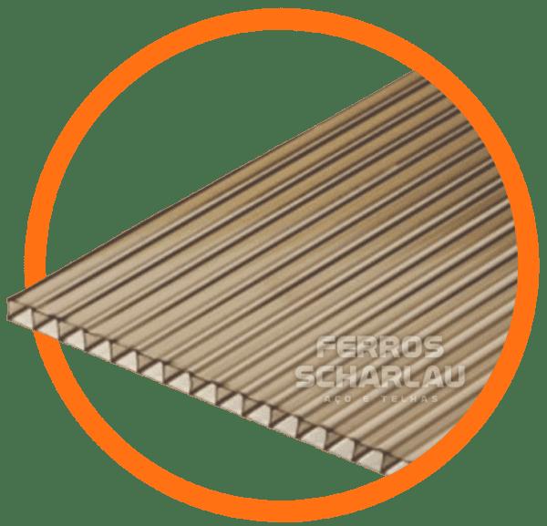 placa chapa de policarbonato para pergolado